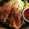 ステーキのどん - 料理写真:チキンカツ☆トマトガーリックソース