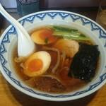 52921630 - ラーメン麺半分味玉600円
