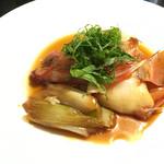 俺の和食英二 - 赤ハタの煮付け  1480円。    これは美味しい!!  違う煮付けをまた食べたい。
