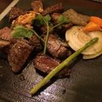 ガカク - 黒毛和牛テンダーロインステーキコース