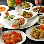 晴々飯店 - 料理写真:食べ&飲み放題Aコース ¥3,150