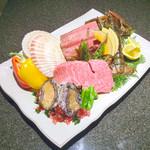 ステーキ 海鮮 鉄板焼き 五稜郭 -