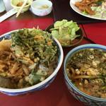 四ッ六庵 - 野菜天丼ランチ