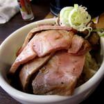 52931742 - 2種の炭焼き焼豚ご飯¥300円