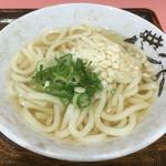うどん亭やま - 料理写真:かけうどん(小)330円