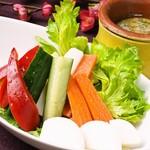 梅咲夜 - 産直野菜の和製バーニャカウダ