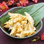 梅咲夜 - 鶏ナンコツの山椒七味焼き