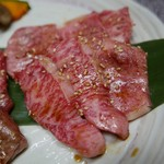 京の焼肉処 弘 - 上カルビ(1260円)