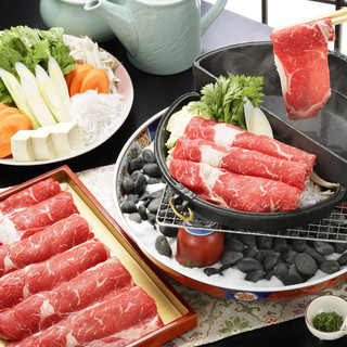 牛禅一番人気は「すきしゃぶ食べ放題」
