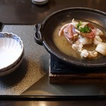 館乃総本店 - ヤリ烏賊バター焼き