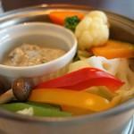 52936436 - 蒸し野菜サラダ(ランチセット)