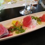 Happouembanketto - 海の幸のサラダ仕立てカルパッチョスタイル