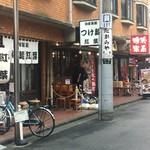 自家製麺つけ麺 紅葉 - ラーメン屋が3軒並んでいます
