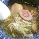 自家製麺つけ麺 紅葉 - 味玉つけ麺