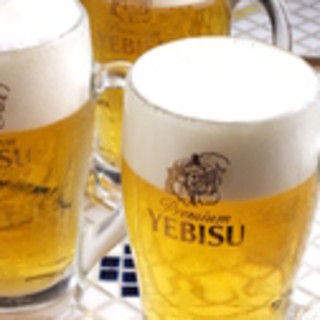 恵比寿といったらエビスビール!