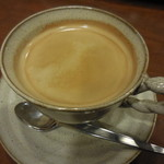 52941622 - ポテト&エッグサンド+コーヒー 390円