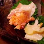 Shion - みる貝、赤貝、ほっき貝