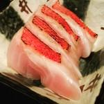 Shion - 天津産 金目鯛:炙り&塩