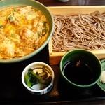 そば うどん 今日亭 - 親子丼定食
