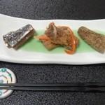 52944993 - 【いわし懐石】 前菜3種
