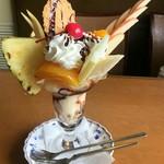 サンレモ - ( ゜o゜)チョコバナナパフェ??
