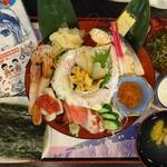 山海里 - 海女丼2,980円