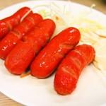 京屋本店 - 赤ウィンナー