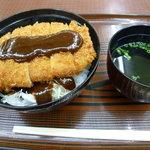 5295356 - みそカツ丼 700円