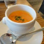 5295504 - 本日の野菜スープ、今回はトマト!