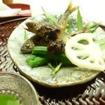 懐石料理 桝田 - 鮎の塩焼き