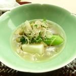 懐石料理 桝田 - 野菜の葛煮