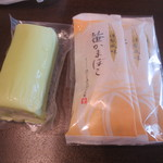 みのや吉兵衛 - ずんだかまぼこ(600円)、燻製ささかま