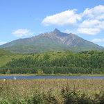 5296356 - オタドマリ沼からの「白い恋人」利尻富士ですね♪