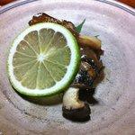 三滝茶屋 - サンマ。サンマのキモをベースにしたソースが美味しかった。