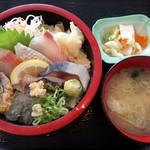 JIVA食堂 - 地魚丼