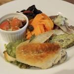 イタリア料理 アルディラ - 前菜の盛り合わせ