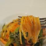 イタリア料理 アルディラ - リングイネの平薄麺