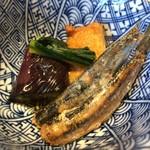 魚菜 山ぐち - 日替りの小鉢