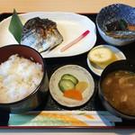 魚菜 山ぐち - 日替り さわら柚庵焼き 800円税込