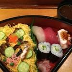桔梗寿司 - お昼のランチAセット