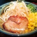 麺匠 佐蔵 - 野菜味噌らぅめん