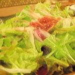 個室みちのく旅籠 ゆるり屋次郎 - サラダ ぼけぼけですんません…