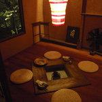 個室みちのく旅籠 ゆるり屋次郎 - 1階には囲炉裏の部屋も