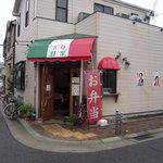 洋食 羽柴 - お店の外観