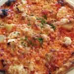カプチーニ - ジャガイモとたこピザ