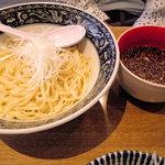 中村屋@ウエストパークカフェ - つけ麺(850円)