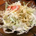 コフタ - カレーに付くサラダ