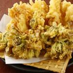 華舞茸の天ぷら