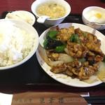 52994961 - 鶏肉の黒コショウ炒め(またかよw)