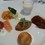 52996847 - オーストリア伝統の前菜盛り合わせ。